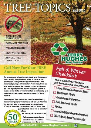 Hughes Fall 2016 Newsletter